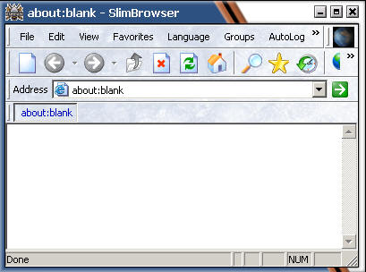 web browser skin